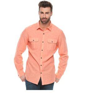 Marc Anthony peach shirt XXL